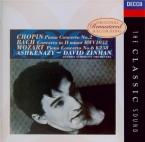 BACH - Ashkenazy - Concerto pour clavecin et cordes n°1 en ré mineur BWV