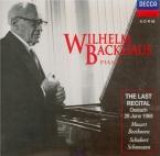 The Last Recital, Ossiach 28/6/1969