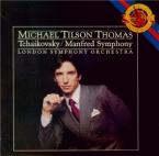 TCHAIKOVSKY - Tilson Thomas - Symphonie 'Manfred' pour orgue et orchestr