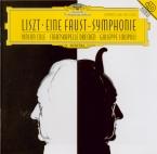 LISZT - Sinopoli - Faust symphonie, pour orchestre, ténor et choeur ad li