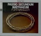 BACH - Furtwängler - Passion selon St Matthieu(Matthäus-Passion), pour live Wien 14 & 17 - 4 - 1954