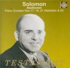 BEETHOVEN - Solomon - Sonate pour piano n°17 op.31 n°2 'la Tempête'