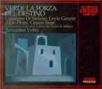 VERDI - Votto - La forza del destino, opéra en quatre actes (version 186 live Scala dii Milano in Köln, 5 - 7 - 1957