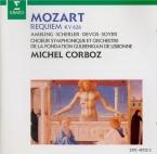 MOZART - Corboz - Requiem pour solistes, chœur et orchestre en ré mineur