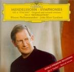 MENDELSSOHN-BARTHOLDY - Gardiner - Symphonie n°4 en la majeur op.90 'Ita