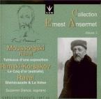 RAVEL - Ansermet - Schéhérazade, trois poèmes pour soprano ou ténor avec