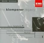 BRAHMS - Klemperer - Symphonie n°4 pour orchestre en mi mineur op.98