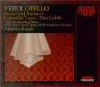 VERDI - Erede - Otello, opéra en quatre actes (live Tokyo 7 - 2 - 1959) live Tokyo 7 - 2 - 1959