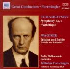 TCHAIKOVSKY - Furtwängler - Symphonie n°6 en si mineur op.74 'Pathétique