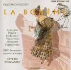 PUCCINI - Toscanini - La bohème