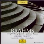 BRAHMS - Amadeus Quartet - Quatuor à cordes n°1 en do mineur op.51 n°1