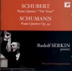 SCHUBERT - Serkin - Quintette avec piano en la majeur op.posth.114 D.667