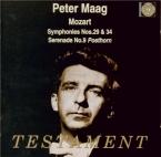 MOZART - Maag - Symphonie n°29 en la majeur K.201 (K6.186a)