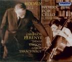 Oeuvre pour violoncelle (Intégrale)
