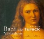 BACH - Tureck - Aria variata alla maniera italiana, pour clavier en la m