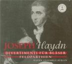HAYDN - Haydn Ensemble - Divertimento  (Feld-Parthie) pour deux hautboi