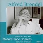 MOZART - Brendel - Sonate pour piano n°18 en fa majeur K.533