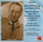 MOZART - Steiner - Die Entführung aus dem Serail (L'enlèvement au sérail live Radio Berlin, 24 - 10 - 1937