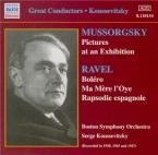MOUSSORGSKY - Koussevitsky - Tableaux d'une exposition, pour piano