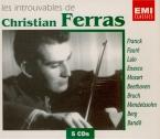 Les introuvables de Christian Ferras