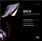 BACH - Egarr - Concerto pour clavecin et cordes n°1 en ré mineur BWV.105