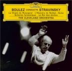 STRAVINSKY - Boulez - Le chant du rossignol, poème symphonique pour orch