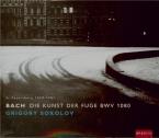 BACH - Sokolov - L'art de la fugue(Die Kunst der Fuge), pour clavier en