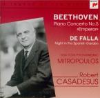 BEETHOVEN - Casadesus - Concerto pour piano n°5 en mi bémol majeur op.73