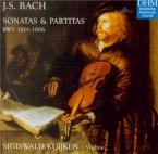 BACH - Kuijken - Sonate pour violon seul n°1 en sol mineur BWV.1001
