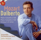 MOZART - Dalberto - Concerto pour piano et orchestre n°20 en ré mineur K