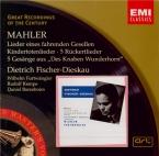 MAHLER - Furtwängler - Lieder eines fahrenden Gesellen (Chants d'un comp