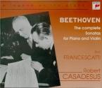 BEETHOVEN - Francescatti - Sonate pour violon et piano n°9 op.47 'Kreutz