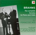 BRAHMS - Francescatti - Sonate pour violon et piano n°1 en sol majeur op