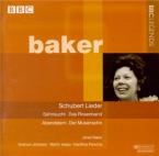 SCHUBERT - Baker - Die junge Nonne (Craghier), lied pour voix et piano o