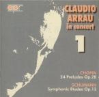 CHOPIN - Arrau - Vingt-quatre préludes pour piano op.28