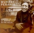 BACH - Perahia - Concerto pour clavecin et cordes n°1 en ré mineur BWV.1
