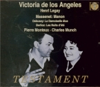 MASSENET - Monteux - Manon