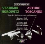 3 Live Brahms Concertos Performances