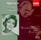 SCHUBERT - Schwarzkopf - An die Musik (Schober), lied pour voix et piano
