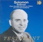 BEETHOVEN - Solomon - Sonate pour piano n°26 op.81a 'Les adieux'