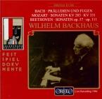 MOZART - Backhaus - Sonate pour piano n°5 en sol majeur K.283 (K6.189h)