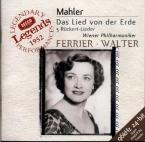 MAHLER - Walter - Das Lied von der Erde (Le chant de la terre), pour tén