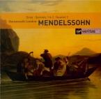 MENDELSSOHN-BARTHOLDY - Hausmusik - Quatuor à cordes n°2 en la mineur op
