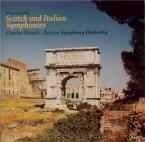 MENDELSSOHN-BARTHOLDY - Munch - Symphonie n°3 en la mineur op.56 'Schott import Japon
