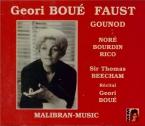 GOUNOD - Beecham - Faust (+ Récital Geori Boué) + Récital Geori Boué