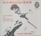 BACH - Navarra - Six suites pour violoncelle seul BWV 1007-1012