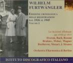 Wilhelm Furtwangler : Enregistrements 1926/45 Vol.2