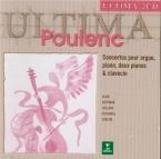 POULENC - Conlon - Concert champêtre, pour clavecin et orchestre FP.049
