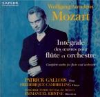 Intégrale des oeuvres pour flûte et orchestre
