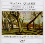 DVORAK - Prazak Quartet - Quatuor à cordes n°14 en la bémol majeur op.10
